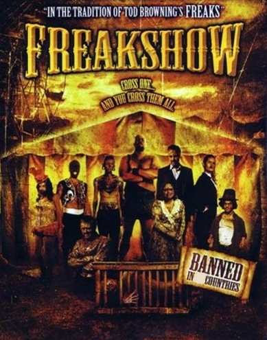 How many countries banned the movie Freakshow?