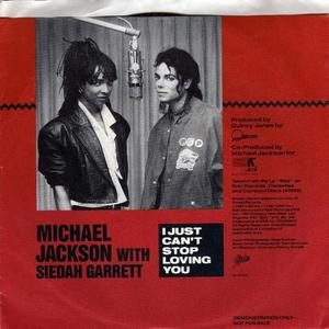 "Siedah Garrett performed ""I just can't stop loving you"" with Michael on the BAD TOUR ?"