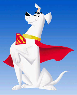 This is a picture of Superdog, but what is his real name ?