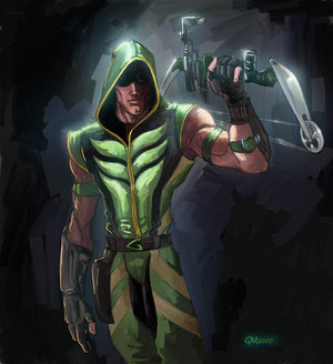 what city does green arrow protect?