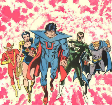 Which pre-Crisis parallel Earth did the original Crime Syndicate of America hail from?