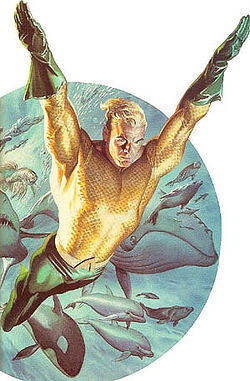 Who were the creators of Aquaman?