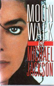 Whom did Michael dedicate the 'Moonwalk' book ?