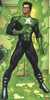 Who are the creators of Green Lantern(Kyle Rayner)?