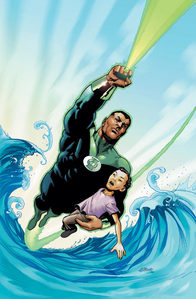 Who are the creators of Green Lantern(John Stewart)?