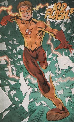 Who are the creators of Kid Flash(Bart Allen)?