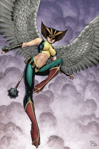 Who are the creators of Hawkgirl?