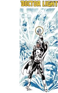 Who are the creators of Doctor Light(Arthur Light)?