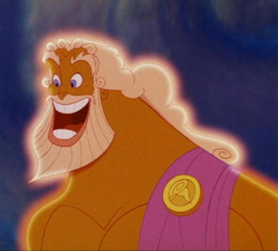 Who is the voice of Zeus ?