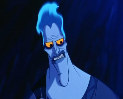 Who does the voice of Hades ?