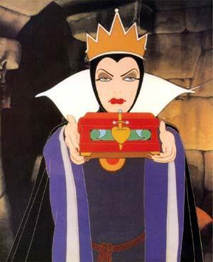 How is the Queen related to Snow White?