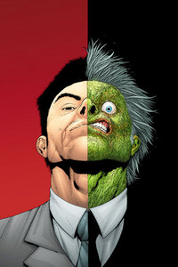 Who are the creators of the Two-Face?