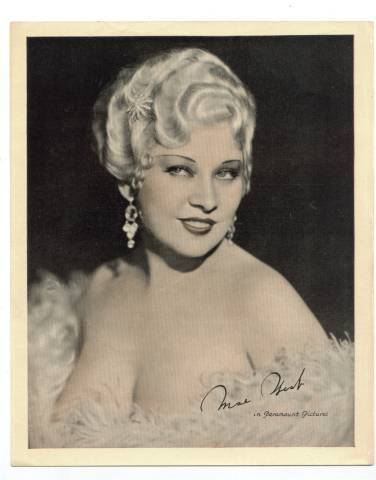 "Complete this Mae West quote - ""A mans kiss is his"" ..........?"