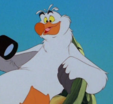 Who is the voice of Scuttle ?
