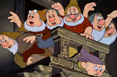 Which of the Dwarfs कहा - 'She's wicked! '