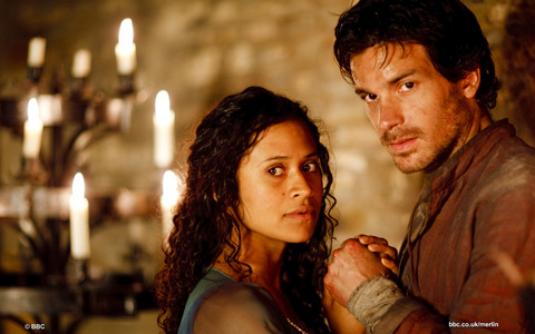 Who wrote the script for lancelot and guinevere?