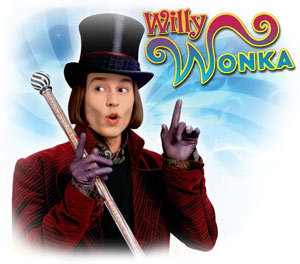 In Willy Wonka -  What do the shoes in the soup give to it?