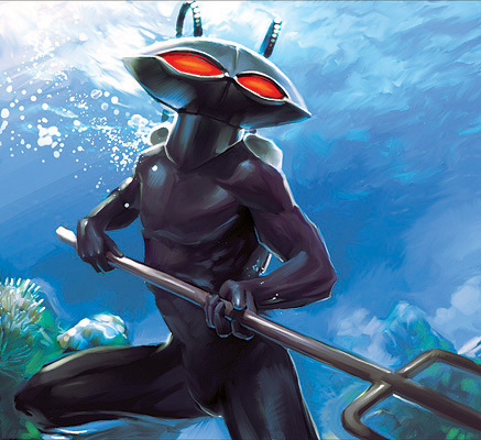 Who are the creators of the Black Manta?