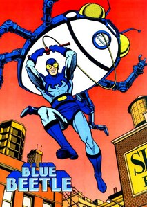 Who are the creators of Blue Beetle(Theodore Kord)?