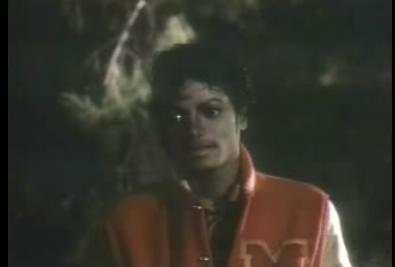 THRILLER - Michael : You know I like you, dont you ?
