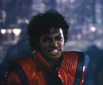 "At the very end of ""Making of Thriller"" what did he says to John Landis?"