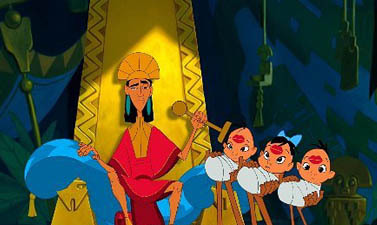 """What was the original शीर्षक of """"The Emperor's New Groove""""?"""