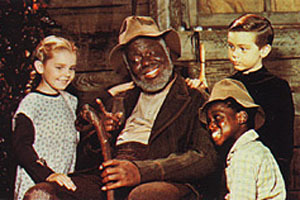 This poor white girl befriends rich Plantation son Johnny and slave boy Toby. She enjoys to hear Uncle Remus's stories of Brer' Rabbit. What's her name?