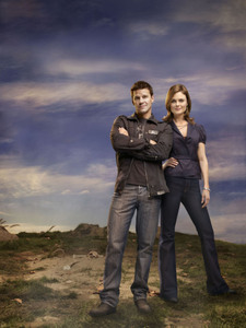 What is the age difference between Booth and Brennan?