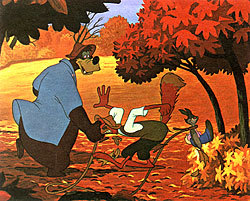 The laughing of Brer Rabbit heard during the Laughing Place sequence of Song of the South was reused in which movie?
