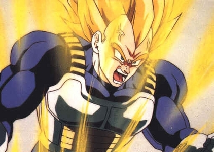 whats make vegeta angry and attack cell after the cell game ?
