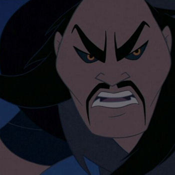In Mulan - What was unusual about the sword of Shan Yu?