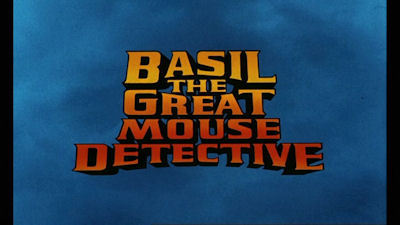 "Which character from ""Alice in Wonderland"" makes a cameo appearance in Basil ""The Great Mouse Detective""?"