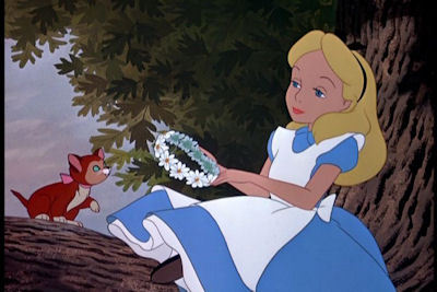 What English childhood actress provided the voice of Alice?