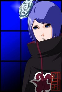 after the death of pein, are konan back to the akatsuki?