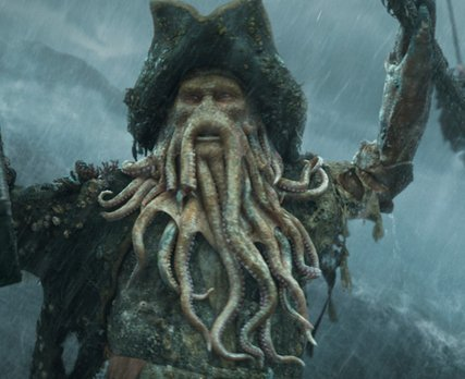 In Johnny Depp's film P.O.T.C. 2 and 3 who played Davy Jones