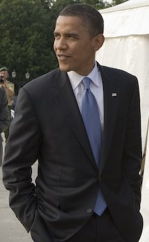 """Fill in the blank of this Barack Obama Quote: """"________ was great. Thumbs up. It's terrific. I really enjoyed it."""""""