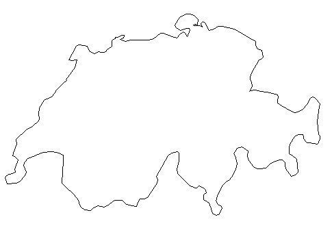 What is the area of Switzerland?
