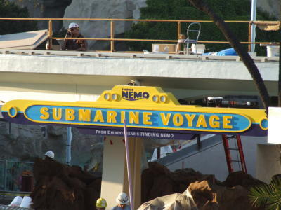 """Which Disney Theme Park can you find """"Finding Nemo Submarine Voyage"""""""