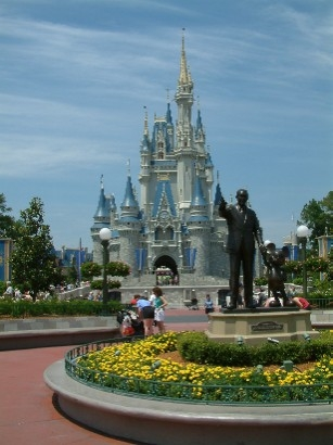 Walt Disney World World Resort is the same size of which American city?