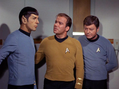"Spock: ""Logic and practical information do not seem to apply here"". What is the response to this statement?"