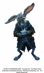 Where was the March Hare born?