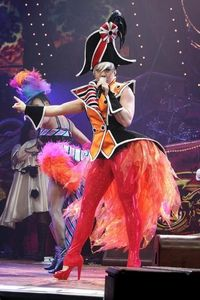 how many shows did màu hồng, hồng do on her funhouse tour?