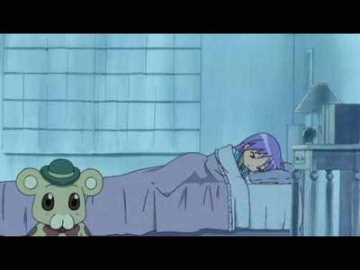 What জীবন্ত is the stuffed doll in Kagami's room off of?