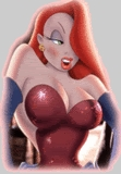 What song did Jessica Rabbit sing at the avondmaal club?