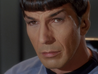 """How high did Mr Spock rank in SFX's """"69 Sexiest Aliens"""" 一覧 in 2004?"""