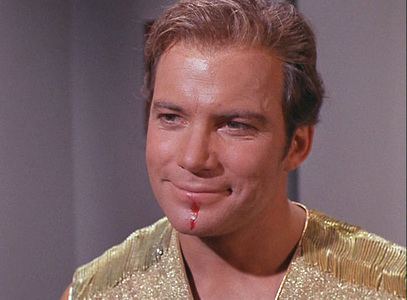 "How high did Captain Kirk rank in Bravo's ""100 Greatest TV Characters"" list?"