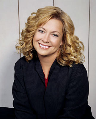 What soap did Catherine Hicks get her break with?