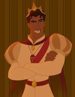 T/F: This is the real Prince Naveen.