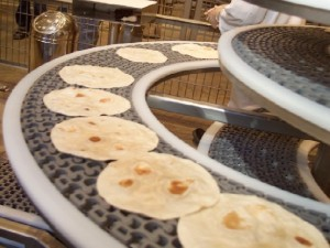 What is the name of the Tortilla factory in Disney's California Adventure?