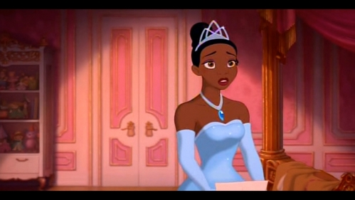 How many tiaras/crowns that Tiana had?